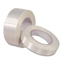 """72 Rolls Industrial Filament Strapping Tape 1//2/"""" x 60 Yards 4.8 MIL Reinforced"""