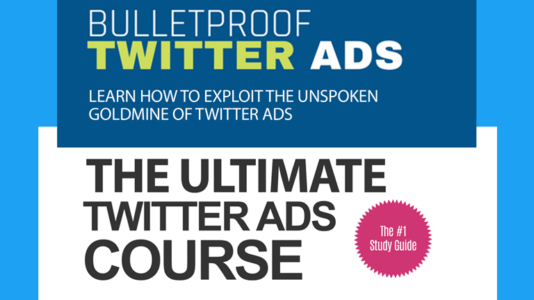 Twitter Ads Course