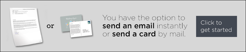 large send a greeting button