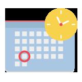 Activity calendar button