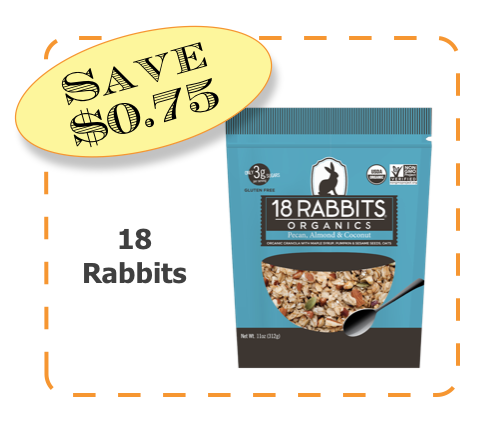 18 Rabbits NonGMO Coupon Offer