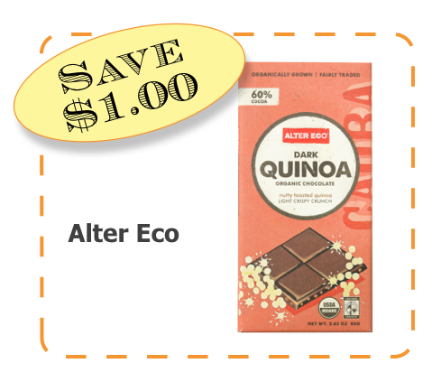 Alter Eco Chocolate Non-GMO CommonKindness coupon