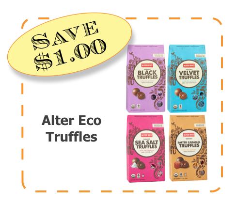 Alter Eco Non-GMO CommonKindness Truffle coupon