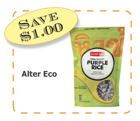 Alter Eco Rice Non-GMO CommonKindness coupon