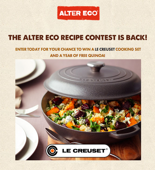 AlterEco Recipe Contest