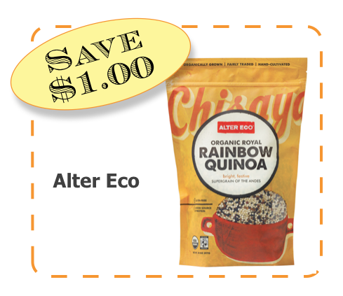 Alter Eco Quinoa Non-GMO CommonKindness coupon