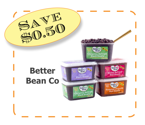 Better Bean Co Non-GMO CommonKindness coupon