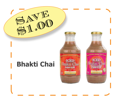 Bhakti Chai Non-GMO CommonKindness coupon