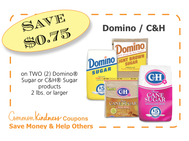 Domino/C&H CommonKindness Coupon