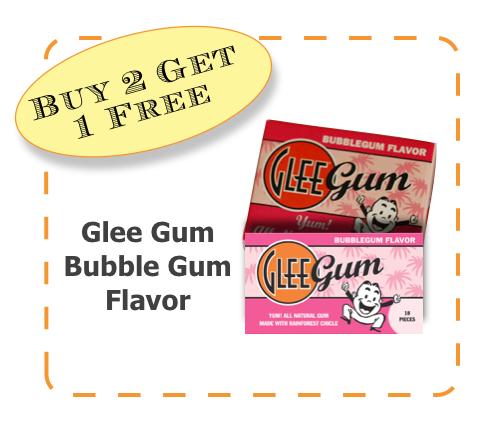 Glee Gum Non-GMO CommonKindness BubbleGum coupon
