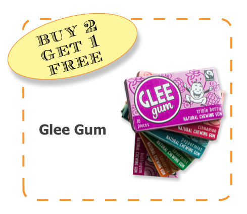 Glee Gum Non-GMO CommonKindness BubbleGum coupon