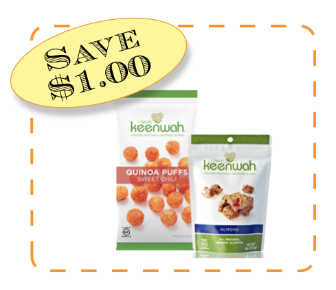 I Heart Keenwah Non-GMO CommonKindness coupon