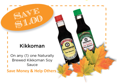 Kikkoman Coupon