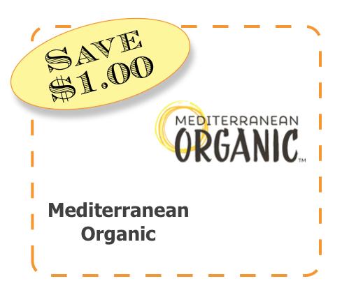 Mediterranean Organics Non-GMO CommonKindness coupon
