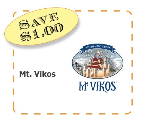 Mt. Vikos Non-GMO CommonKindness coupon