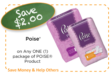 Poise Coupon