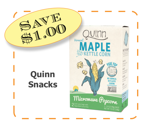 Quinn Snacks Non-GMO CommonKindness coupon