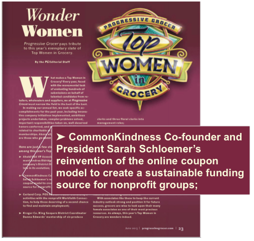 Sarah Schloemer Top Women In Grocery 2013