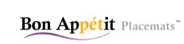 Bon Appétit Placemat Logo