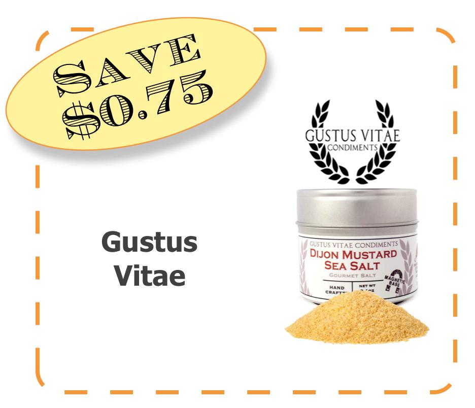 Gustus Vitae NonGMO Coupon Offer