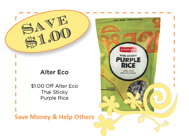 Alter Eco Sticky Rice Coupon