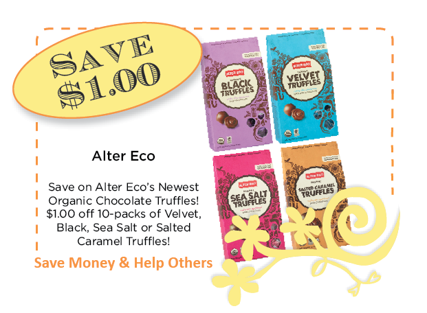 Alter Eco Truffles Coupon