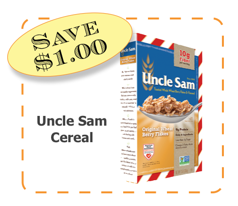 Uncle Sam Non-GMO CommonKindness coupon