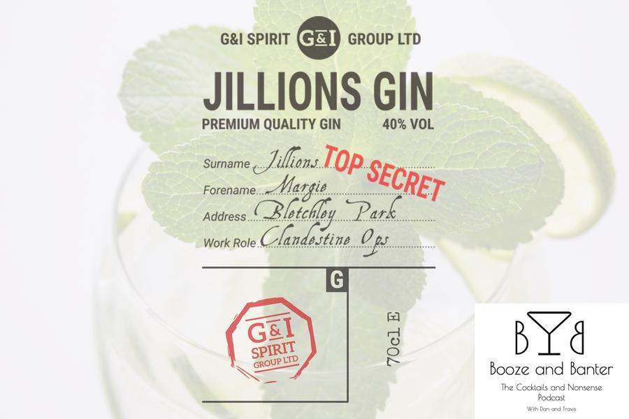 Gillions Gin from G & I Spirit Group Ltd