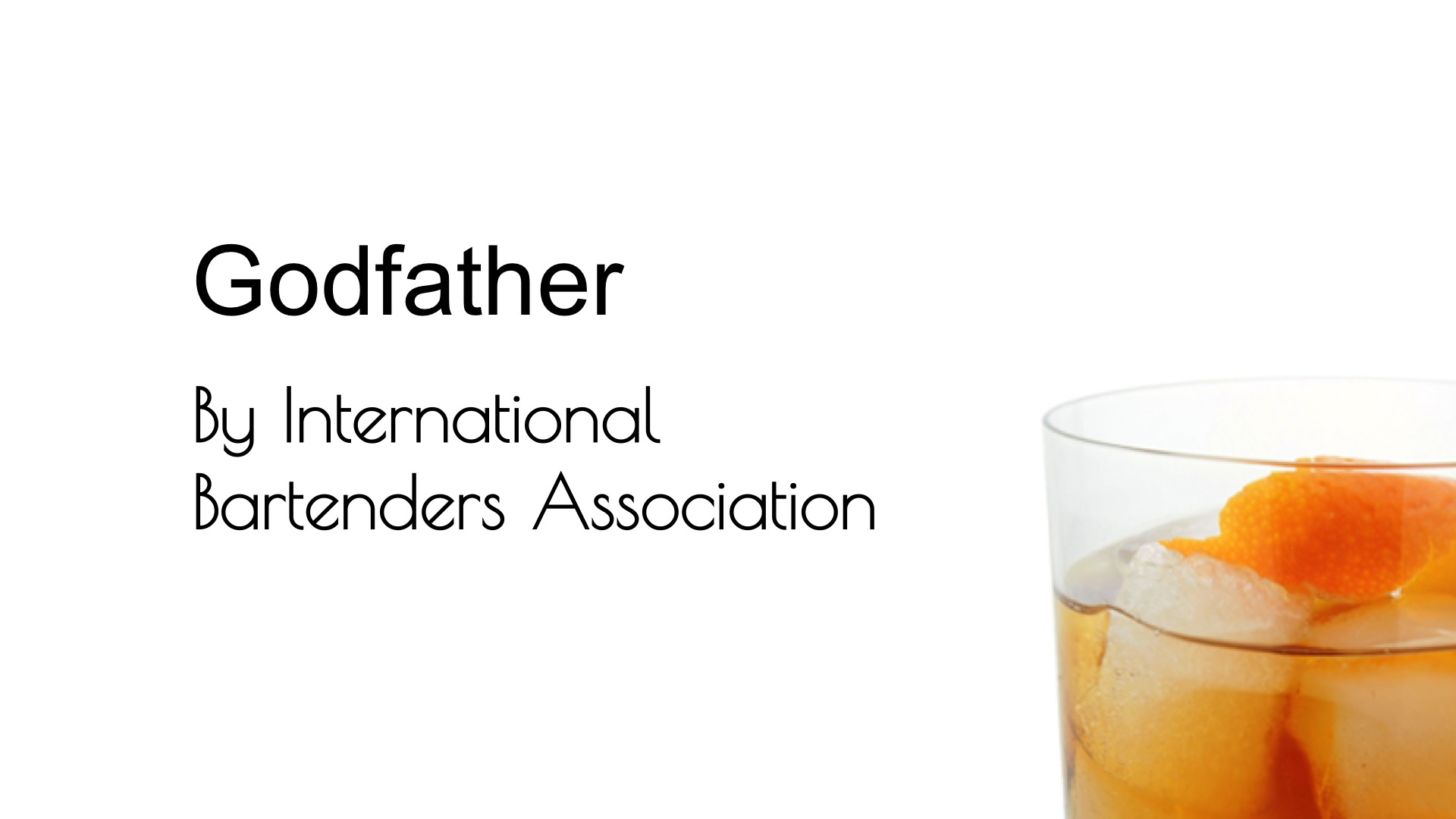 Video for Godfather (IBA) from Commonwealth Cocktails