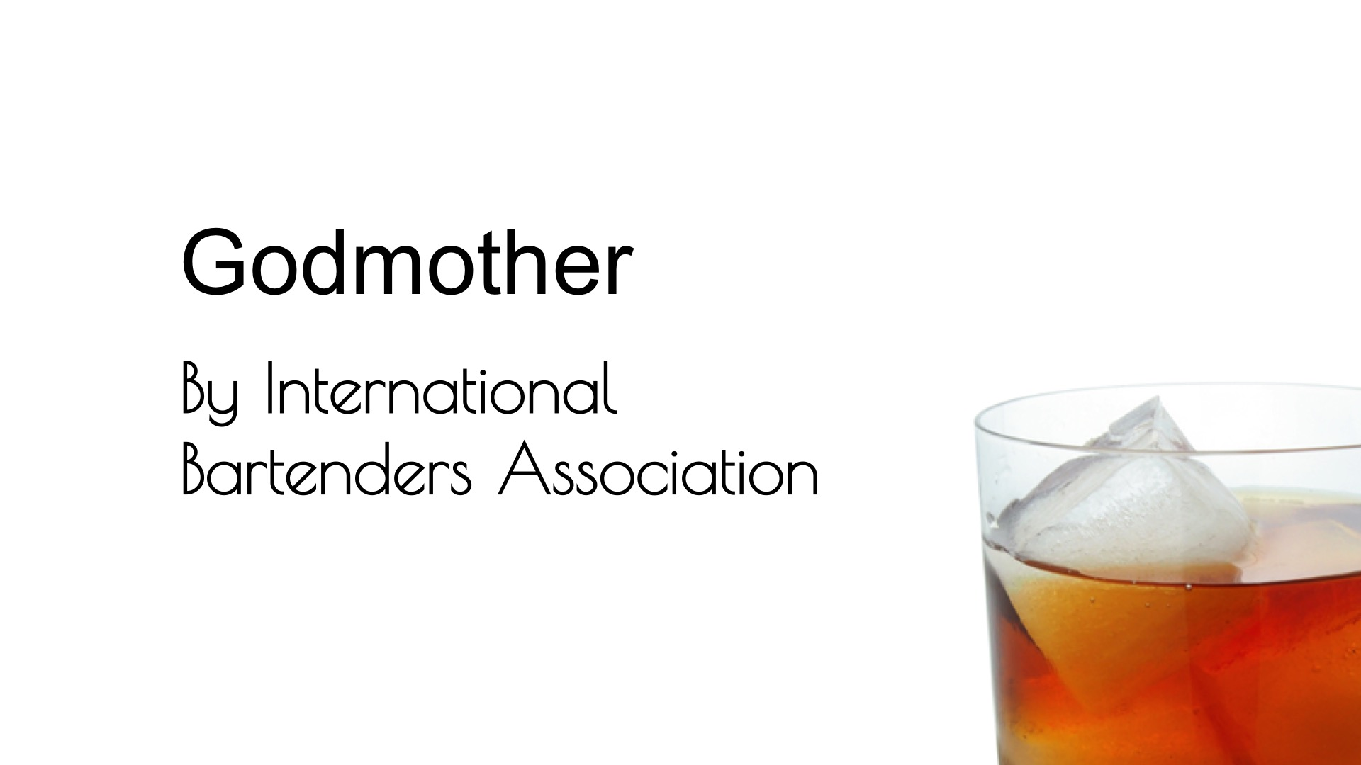 Video for Godmother (IBA) from Commonwealth Cocktails