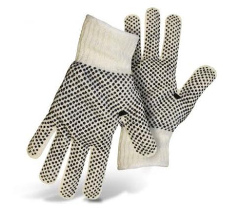 Boss Reversible String Knit Glove w/ PVC Dots