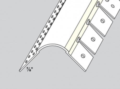10 ft Trim-Tex No Notch Arch Bead w/ 3/4 in Radius