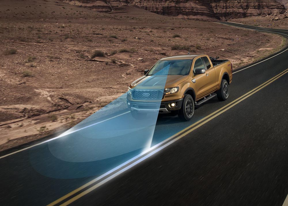 2019 Ford Ranger Safety Features