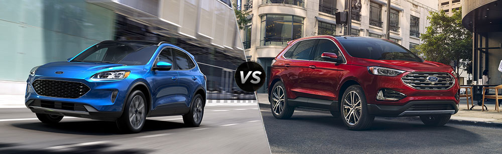 2020 Ford Escape vs 2020 Ford Edge
