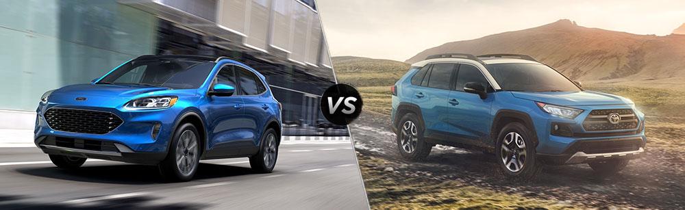 2020 Ford Escape vs 2020 Toyota RAV4