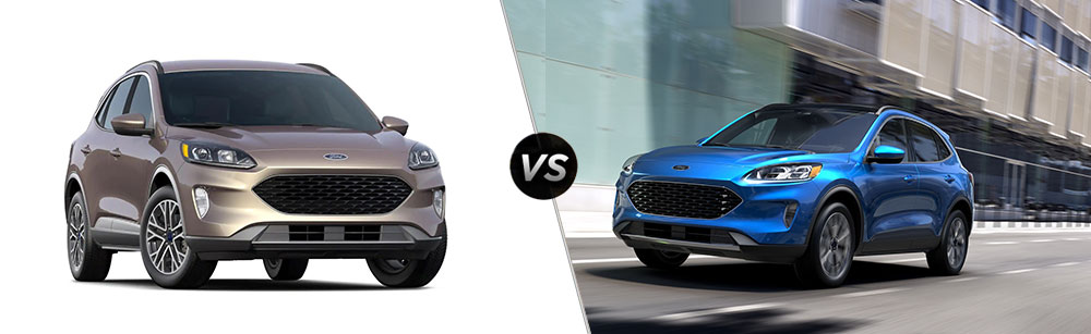 2020 Ford Escape SEL vs 2020 Ford Escape Titanium