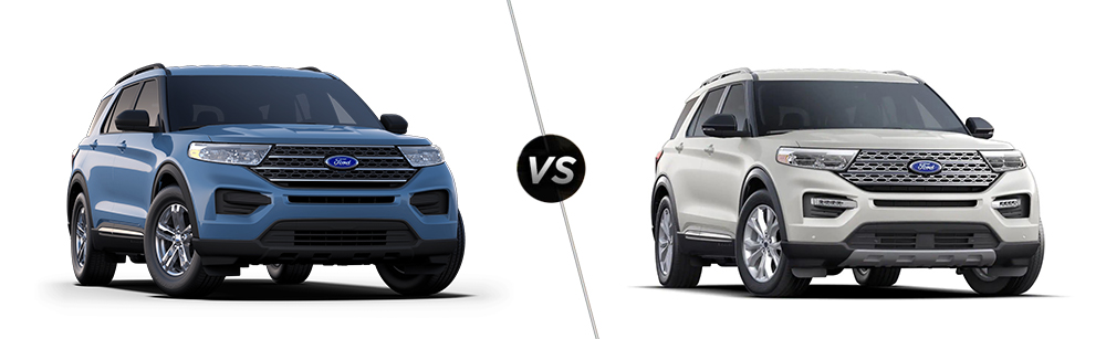 2020 Ford Explorer XLT vs 2020 Ford Explorer Limited