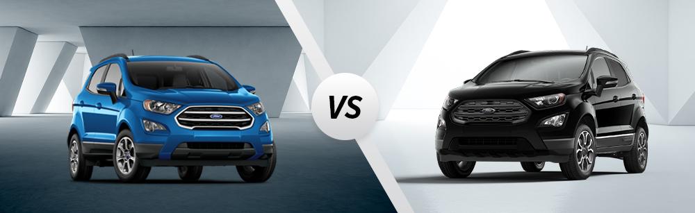 2020 Ford Ecosport SE vs 2020 Ford Ecosport SES