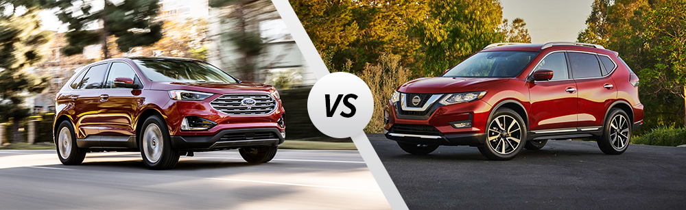 2020 Ford Edge vs 2020 Nissan Rogue