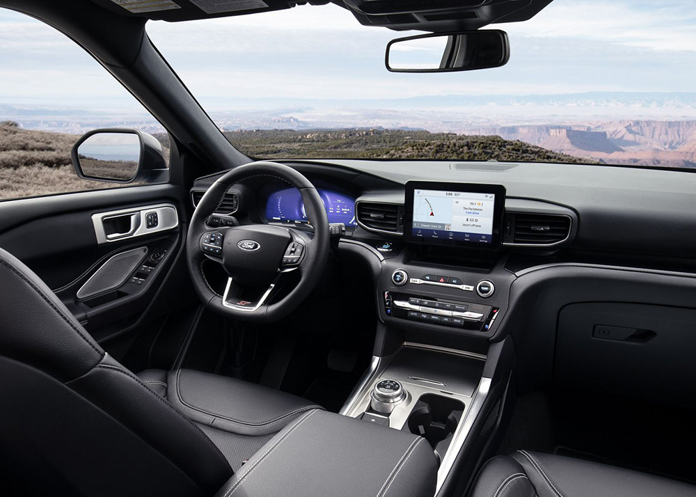 Ford Edge Interior Features