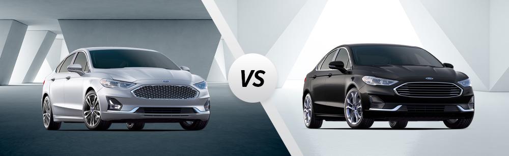 2020 Ford Fusion SEL vs 2020 Ford Fusion Titanium