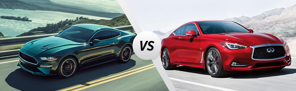 2020 Ford Mustang vs 2020 INFINITI Q60