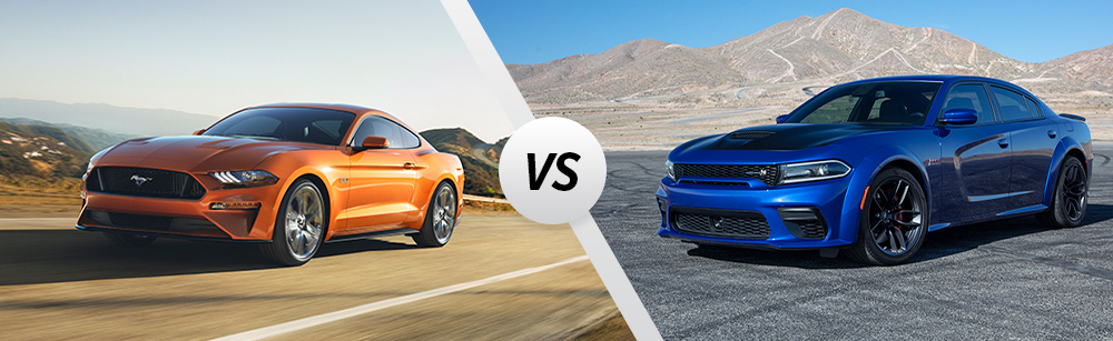 2020 Ford Mustang vs 2020 Dodge Charger