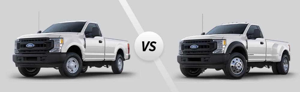 2020 Ford Super Duty F-350 vs 2020 Ford Super Duty F-450