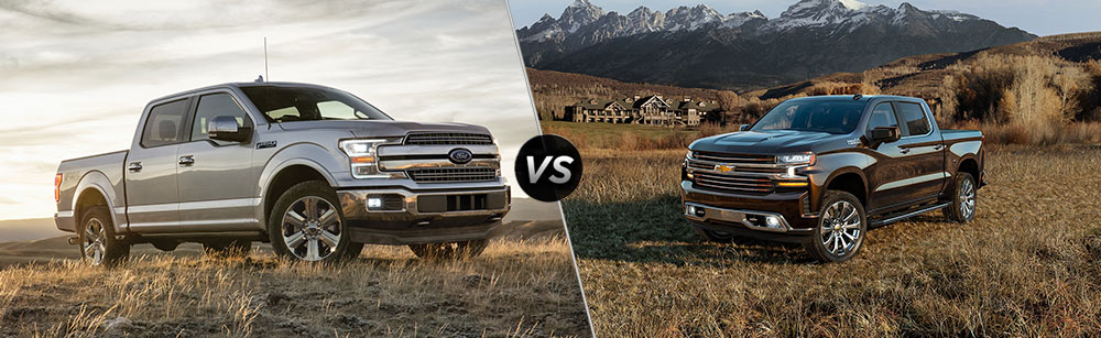 2020 Ford F-150 vs 2020 Chevrolet Silverado 1500