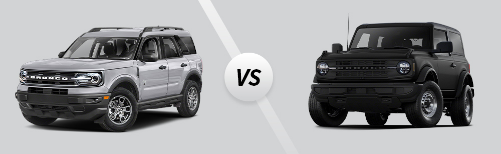 2021 Ford Bronco Big Bend vs 2021 Ford Bronco Outer Banks