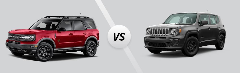 2021 Ford Bronco Sport vs 2021 Jeep Renegade