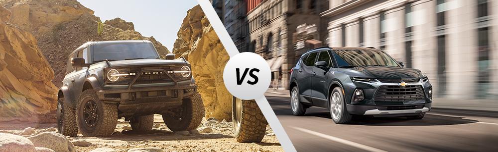 2021 Ford Bronco vs 2021 Chevrolet Blazer