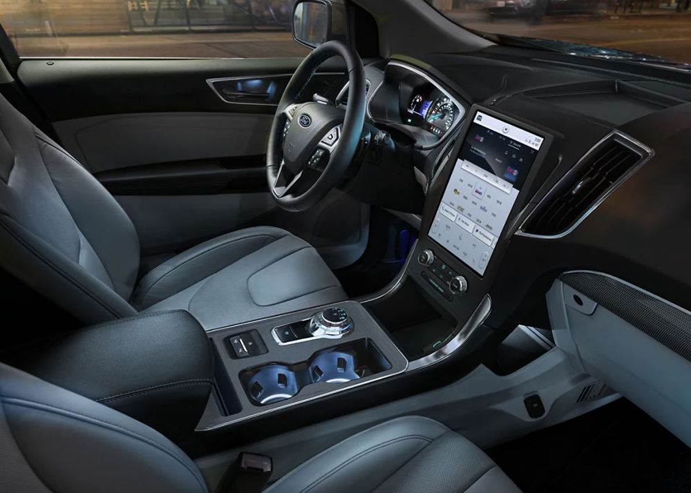 2021 Ford Edge Interior and Technology Features