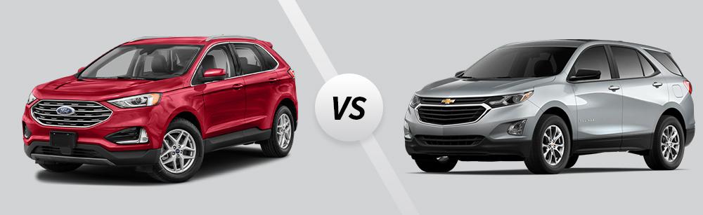 2021 Ford Edge vs 2021 Chevrolet Equinox